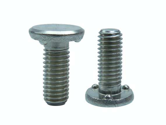 weld screw stainless steel with circular projection