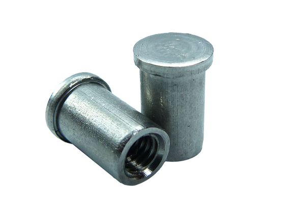 IS tapped boss studs stainless steel